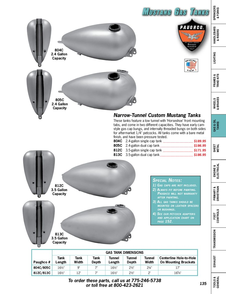 Page 138 of Custom Parts & Accessories for Harley-Davidson