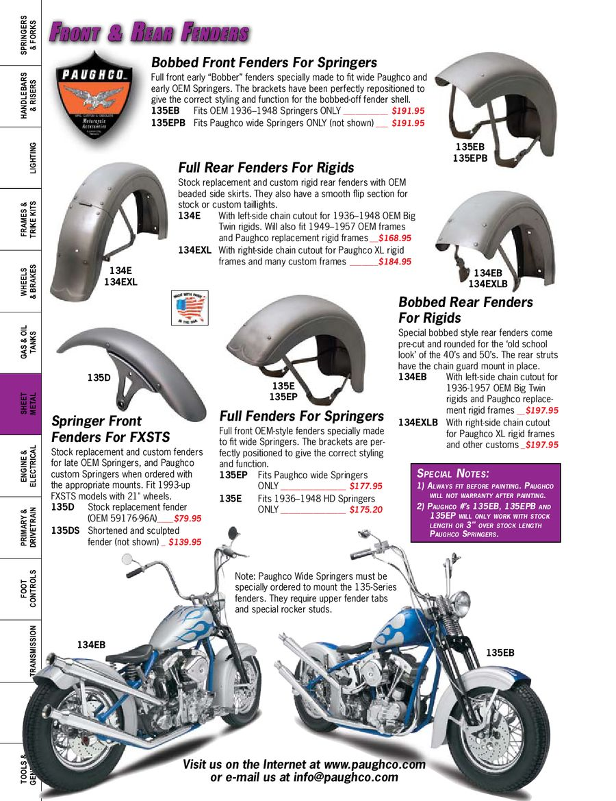 Page 166 of Custom Parts & Accessories for Harley-Davidson