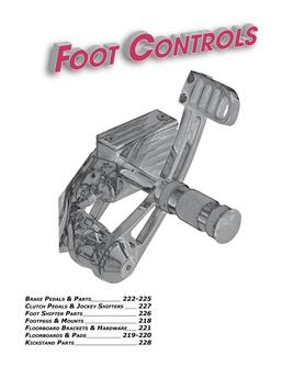2019 Floot Controls & Floorboards