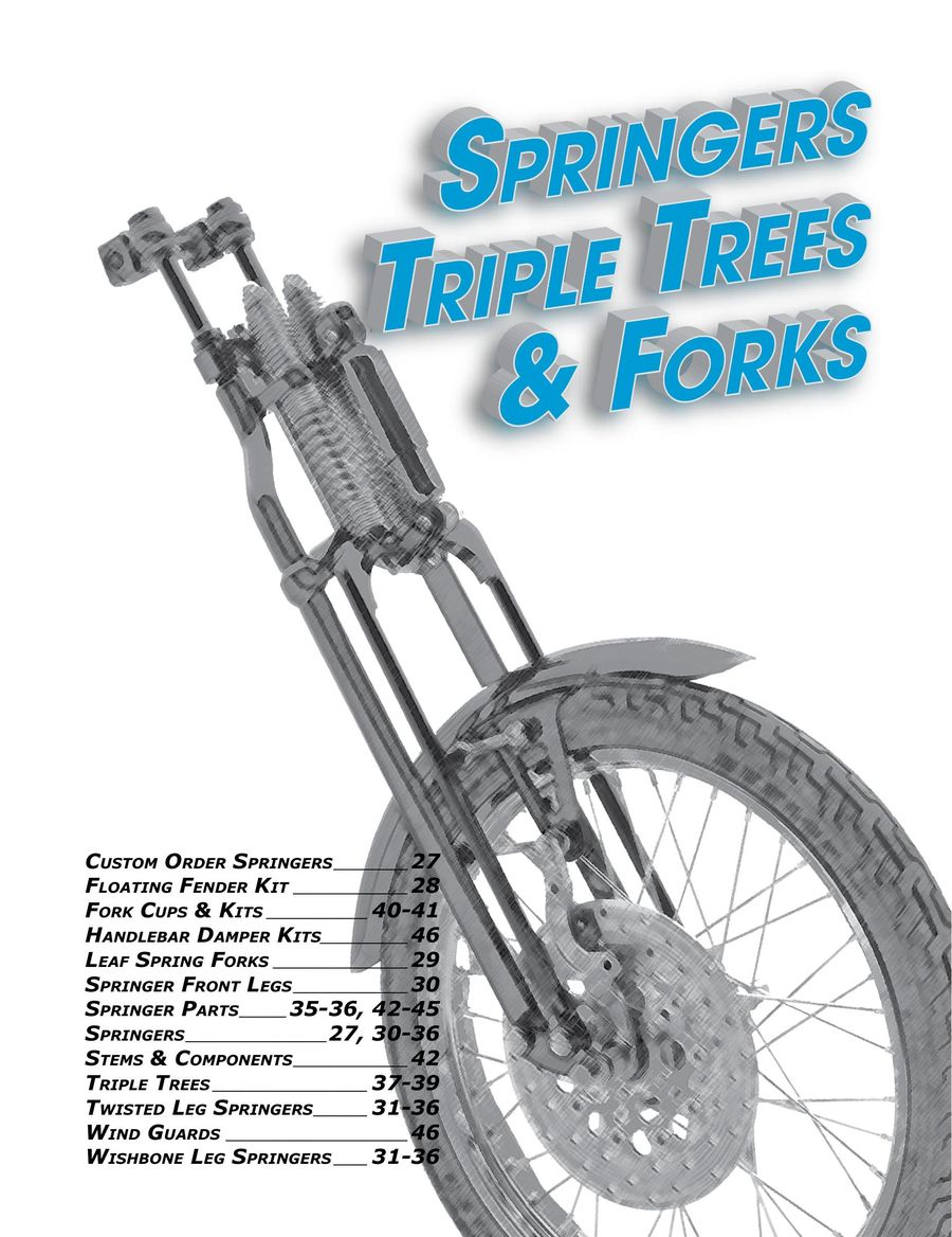 2019 Springers & Fork Components by Paughco