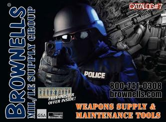 Catalogue: Brownells Government Law Enforcement Weapons Supply & Maintenance Tools #7