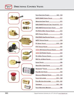 Directional Control Valves 2014