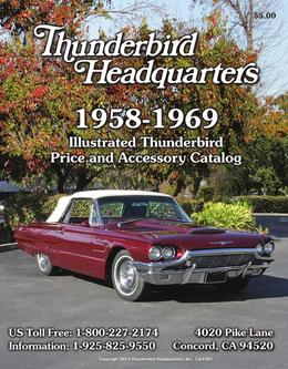 2014 Ford Thunderbird Parts and Accessories
