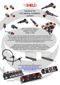 LED lighting installation systems solution