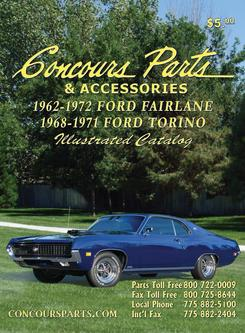 1962-1972 Ford Fairlane & 1968-1971 Ford Torino Parts & Accessories 2009