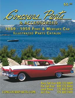 1949-1959 Ford & Mercury Car Parts & Accessories 2009
