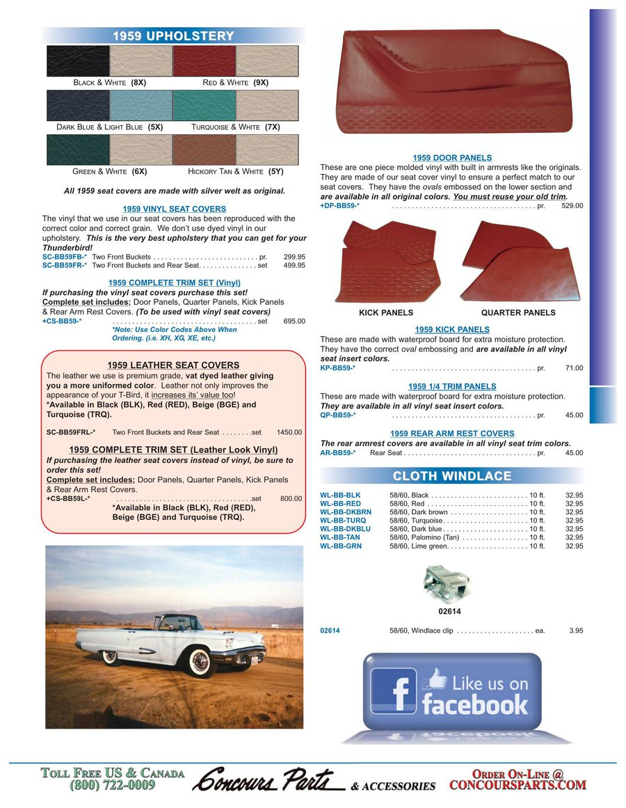 Page 18 of 1958-1966 Thunderbird Parts 2014