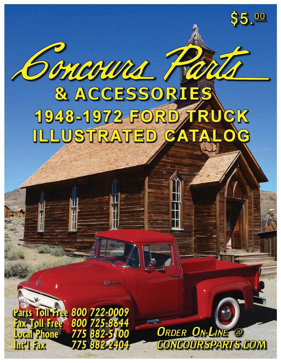 1948 1972 Ford Truck Parts 2017 By Concours 1955 F100 Value