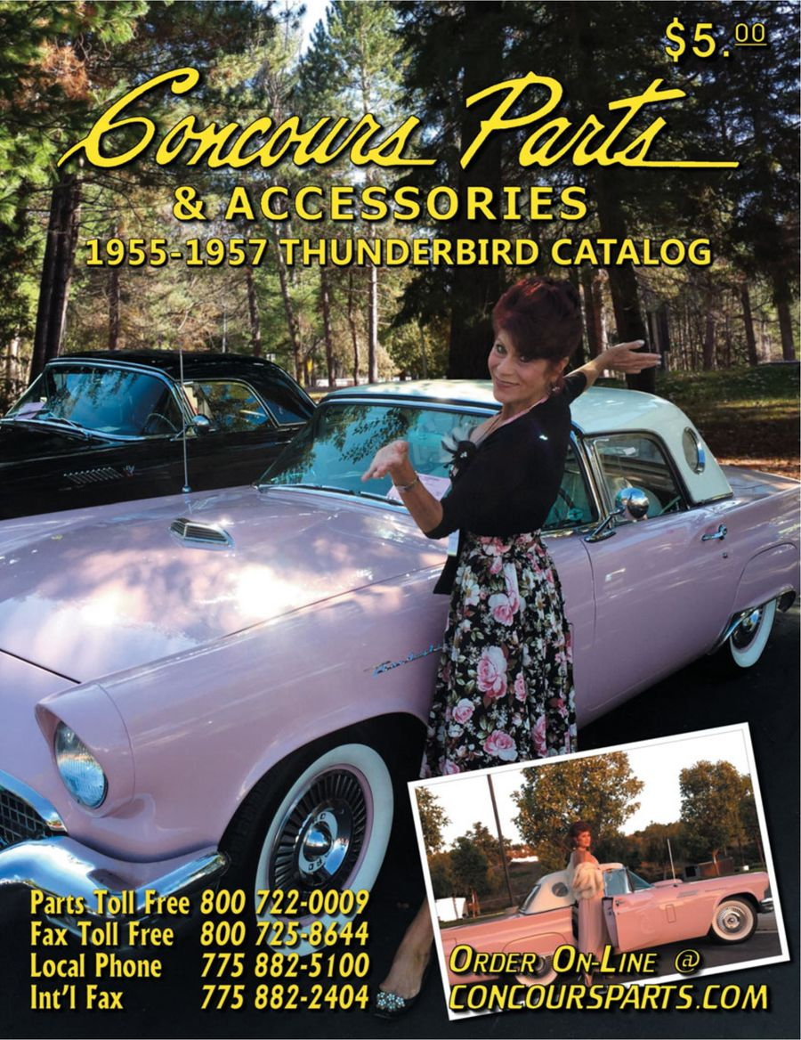 1955-1957 Thunderbird Parts 2017 by Concours Parts