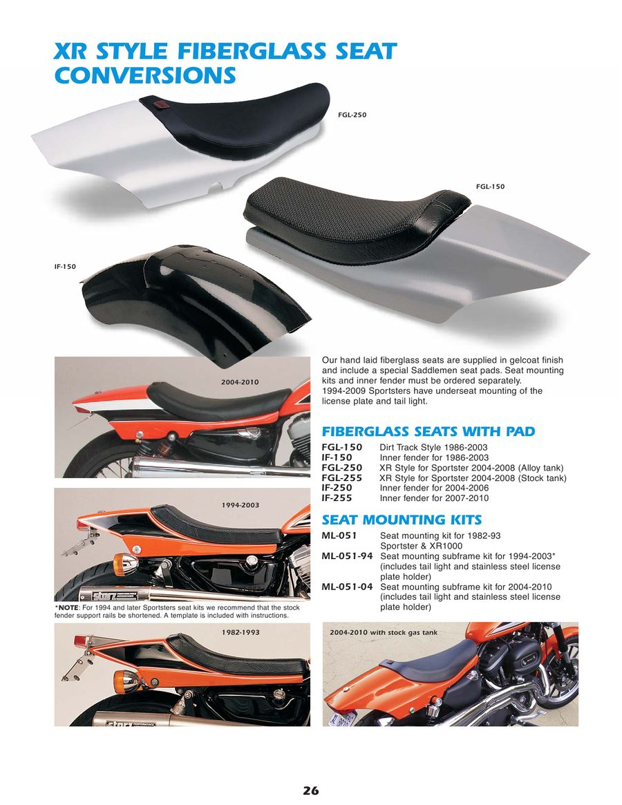 Page 26 of Motorcycle Parts for Harley and Buell 2010