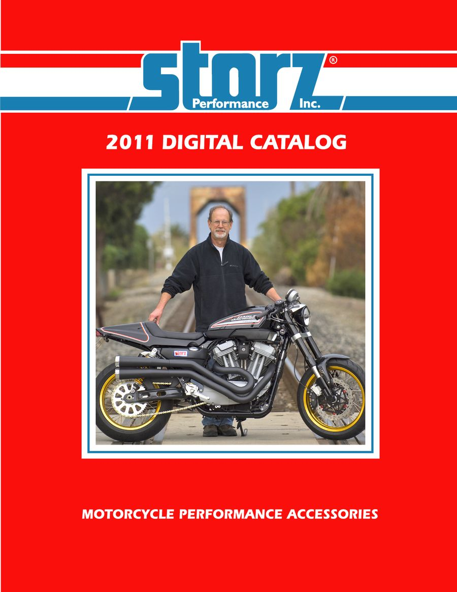 Motorcycle Parts for Harley and Buell 2011 by Storz Performance