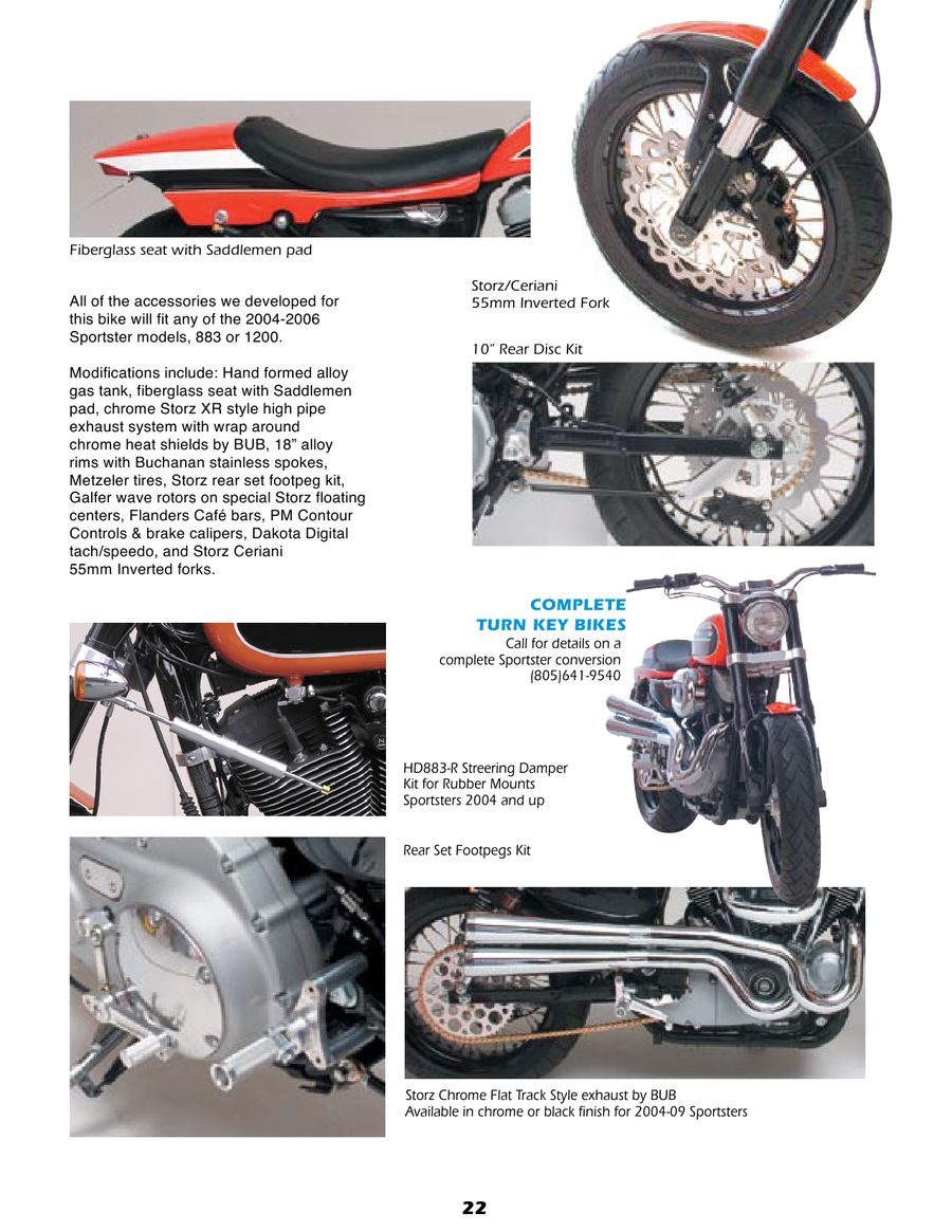 Page 21 of Motorcycle Parts for Harley and Buell 2011
