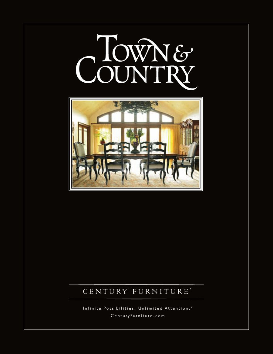 Town Country By Century Furniture