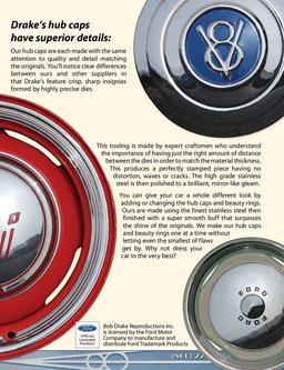 Hubcaps & Beauty Rings for Old Fords & Hot Rods 2013