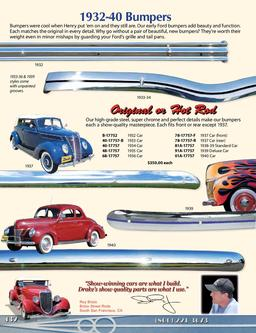 Bumpers for Old Fords & Hot Rods 2013