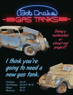 Gas Tanks for Old Fords & Hot Rods 2013