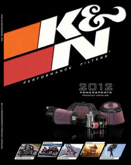 2012 Powersports Performance Filters