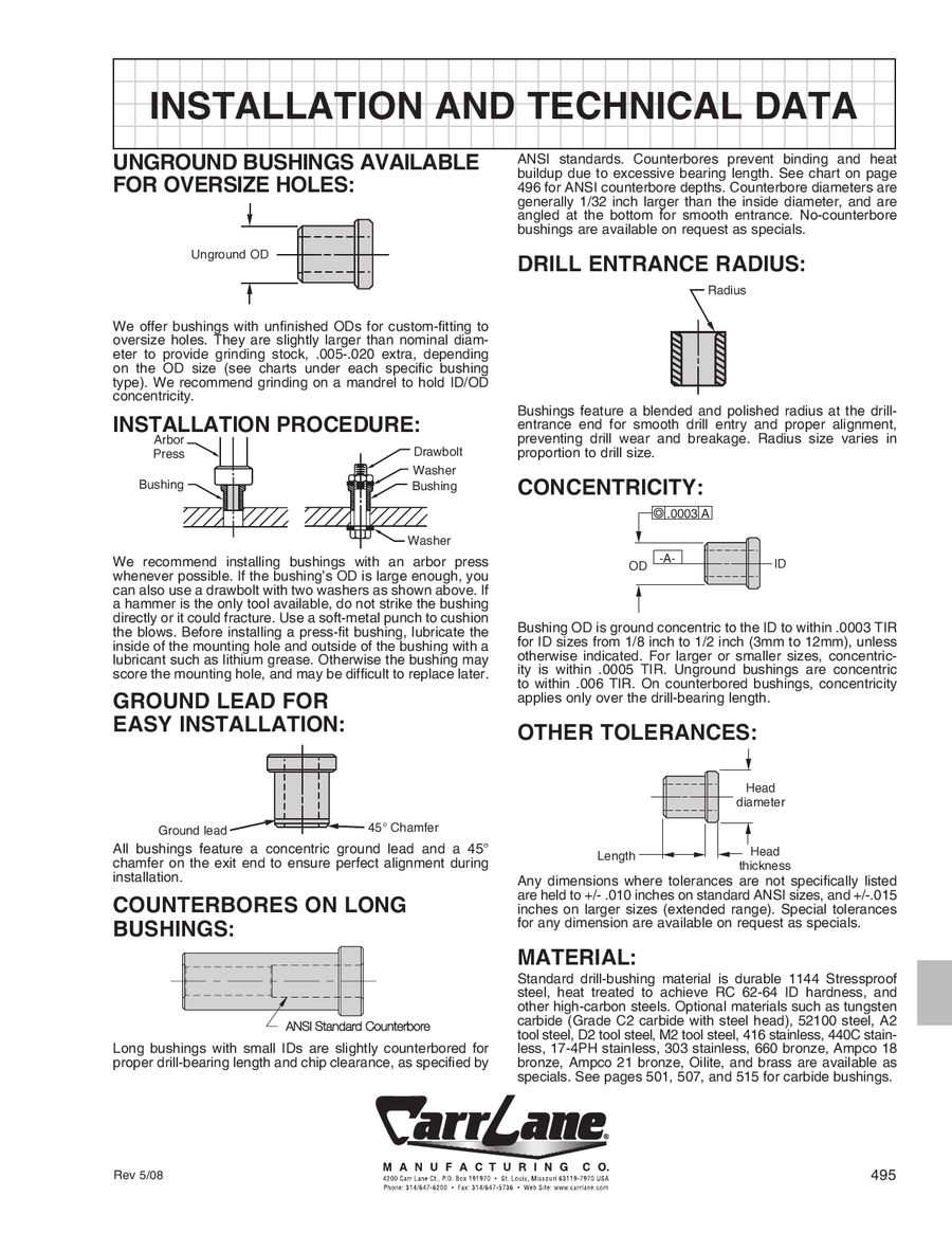 Page 6 of Drill-Jig Bushings