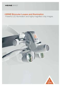 Binocular loupes and illumination