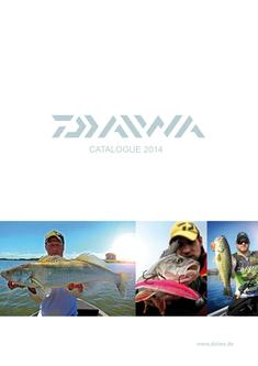 Daiwa Fishing Tackles 2014