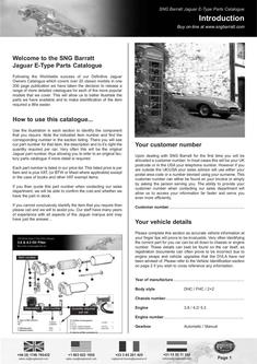 The Difinitive E-Type Parts Catalogue