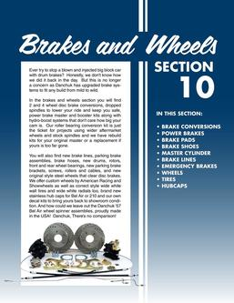 2015 Brakes And Wheel Assemblies