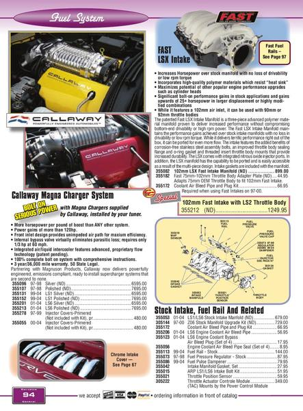 Page 96 of Corvette C5 19972004 Parts and Accessories C5E by Corvette
