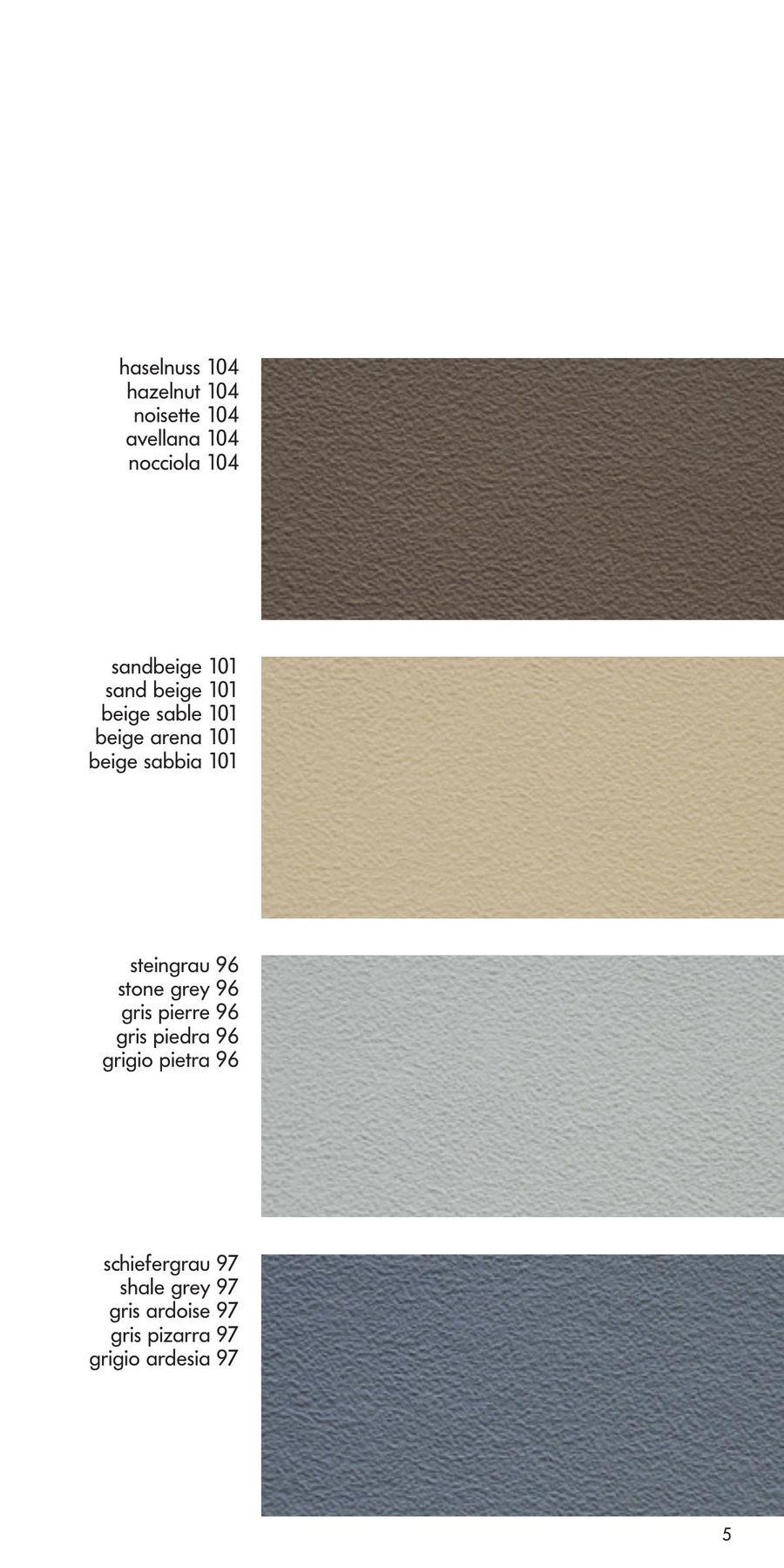 Colours For Leatherettes 2015 By Schmitz U Söhne