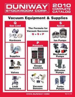 Vacuum Equipment & Supplies 2010