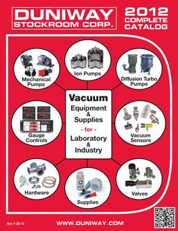 Vacuum Equipment & Supplies 2012
