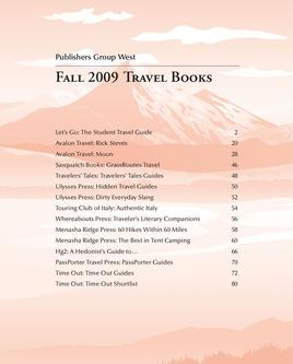 Fall 2009 Travel Books