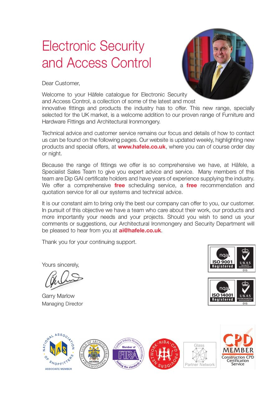 Page 11 of Electronic Security and Access Control