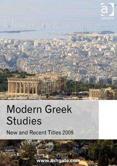 Modern Greek Studies 2009