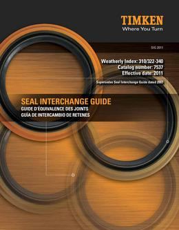 Automotive Aftermarket Seal Interchange Guide 2013
