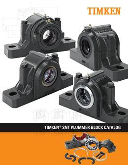 Timken® SNT Plummer Blocks 2013