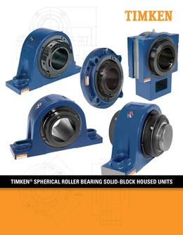 Spherical Roller Bearing Solid-block Housed Units 2013