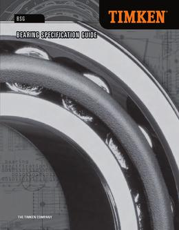 Automotive Aftermarket Bearing Specification Guide 2013