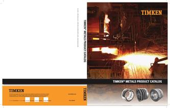 Timken Metals Products 2015