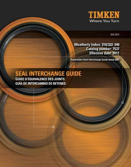 Seal Interchange and Cross Reference Guide 2015