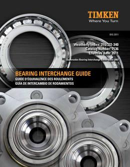 Automotive Bearing Cross Reference Guide 2015