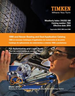 Automotive 1990 and Newer Bearing and Seal Application Catalog 2015