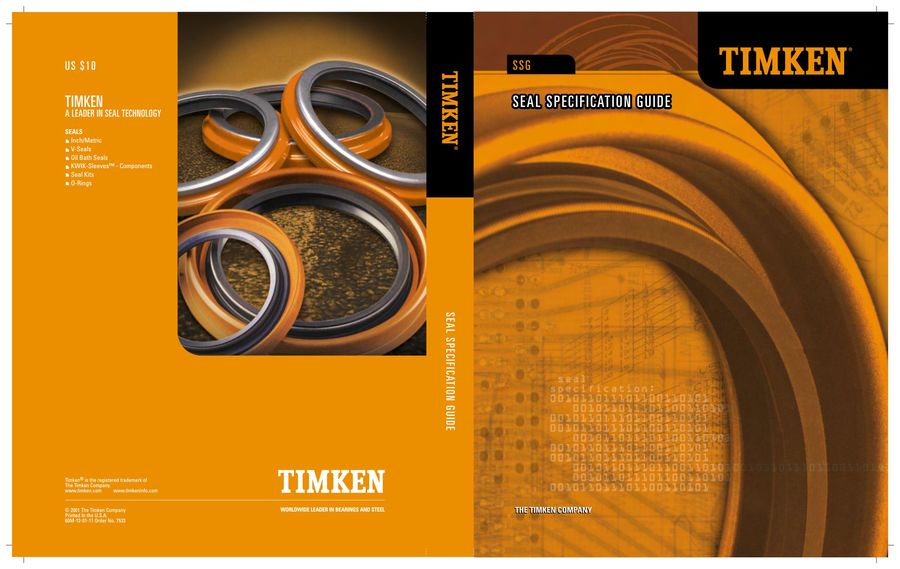 seal specification guide 2015 by timken rh who sells it com Timken Seals Cross Reference 1965 Mustang Six Cylendir Timken Seal
