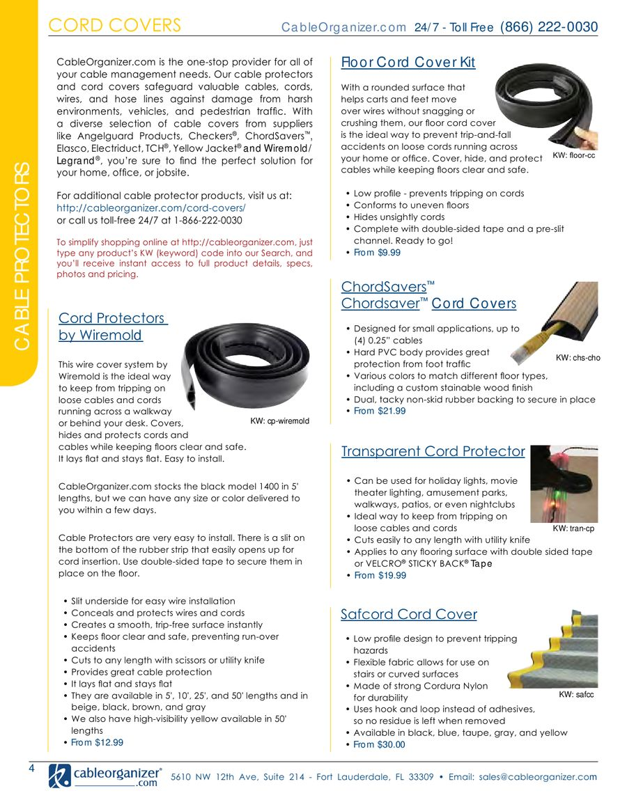 Page 5 of Cable and Wire Management Products