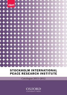 Stockholm International Peace Research Institute 2011/2012