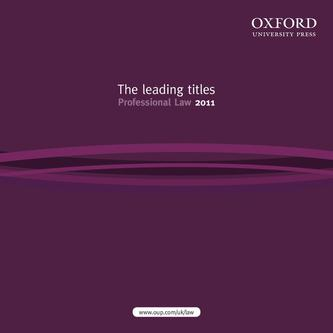 The leading titles Professional Law 2011