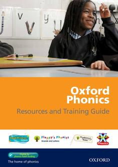 Oxford Phonics Resources and Training Guide