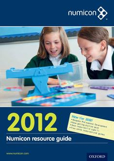 Numicon Resource Guide 2012