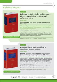 Intellectual Property Law 2012/2013