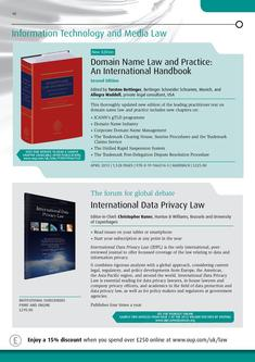 Information Technology and Media Law 2012/2013