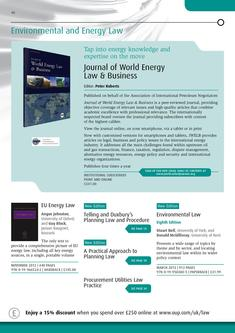 Environment and Energy Law 2012/2013